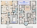 The Palm Oasis Villa Floor Plan
