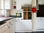 Kitchen with Stainless Steel Oven & Hob