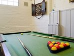 Games Room in Converted Stables