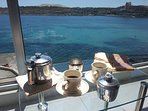 Coffee in the balcony