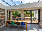 Architect designed, this very contemporary conservatory was completed in August 2018.