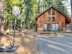 Enjoy a game of basketball during the summer months