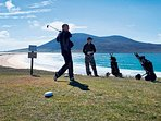 Scarista Golf Course, described as one of the most picturesque 9-hole courses in the world.