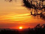 A typical sunset at Tartagli Bassi