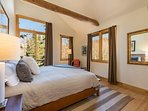There are plenty of mountain views to enjoy from the modernly-appointed bedrooms