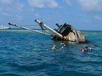 Ship wreck snorkeling activities