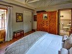 The Chalet master bedroom en-suite with bath