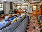 The Chalet living area