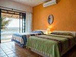 Villa SeaGate, Akumal, Oceanfront Bedroom
