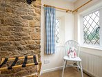 A cosy, characterful room
