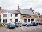 A local, well-regarded pub