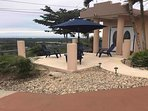 Front house terrace where you will enjoy a spectacular sunrise, sunset,Valley, Mountain, Ocean view.