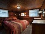 Bedroom 1, main floor with king bed.
