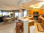 Spacious and comfortable oceanfront condo