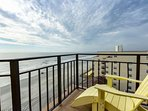 Amazing 7th  floor penthouse view of Garden City Beach
