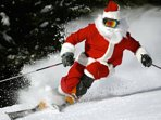 You never know who is watching you be naughty and nice at Shawnee Peak Ski Resort