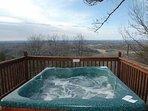 Hot Tub at Apple View