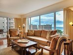 Gorgeous Ocean/Lagoon View 2 Bedroom Executive Suite!