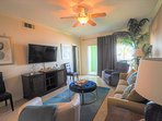 Spacious condo for rent on the Seawall in Galveston, Texas