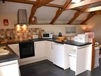 Open Plan Living, Kitchen & Dining area in Oak Cottage.
