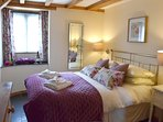 Main Bedroom in Oak Cottage. Double bed.