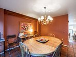 Formal Dining Area Flows into Kitchen, Family Room