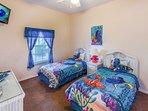Finding Nemo & Dory Themed Bedroom
