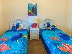 Kids Finding Nemo & Dory themed Bedroom