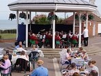 Band Stand has a tea room and many music events