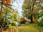 le gîte au jolie couleurs de l'automne