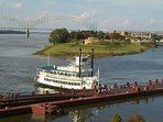 Awesome views from Vance Park or take a cruise on the might Mississippi