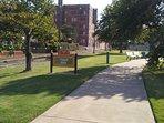 Vance park 1 block away