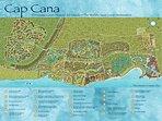 Cap Cana map