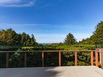 Updated dog-friendly home with fantastic ocean views - walk to the beach!