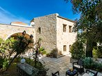 The villa has 1.5 meters thick stone wall which keeps the cool temperature perfectly
