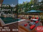 Enjoy Christmas at Villa Bella!
