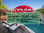 Last Minute Deal!  Book Now, Pay Later with just 15% initial deposit..