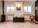 Bedroom 3 / Living Room at Upper Floor / Fireplace
