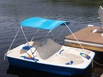 Paddle boats available!