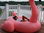 Relaxing on the lake!