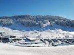 piste de ski alpin 'massif de la serra'