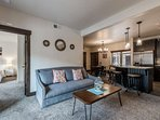 Bright & Spacious Open Floor Plan is Perfect For Family Living – Large Living Room, Breakfast Bar Seating for 3, Gas...