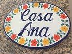 Welcome to Casa Ana