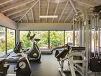 Gym - Located In The Garden / Courtyard
