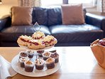 Perfect for sharing afternoon tea