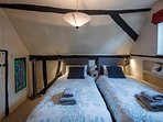 Guest Bedroom (first floor). Super King Size Double or two Singles