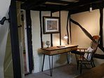Study area between Breakfast Hall and Living Room