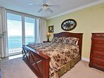 Master Bedroom with a King Size Bed
