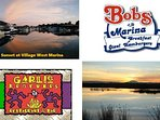 2 Sunset views, 2 restaurants on site: Garlic Brothers Restaurant and Bar, Bobs At The Marina