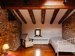 Attic Triple Suite with lovely light from the ceiling windows
